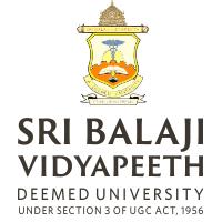 Sri Balaji Vidyapeeth - Deemed to be University